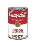 Campbell's Soup I: Onion, c.1968 Poster by Andy Warhol