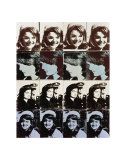 Sixteen Jackies, c.1964 Prints by Andy Warhol