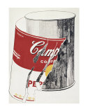 Big Torn Campbell's Soup Can, c.1962 (Pepper Pot) Póster por Andy Warhol