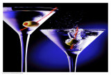 Martinis with Olives Prints by Tom Petroff