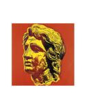 Andy Warhol - Alexander the Great, c.1982 (yellow face) - Reprodüksiyon