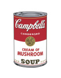 Campbell&#39;s Soup I: Cream of Mushroom, c.1968 Posters by Andy Warhol