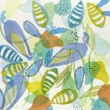 Seaflower Blue Prints by Katherina Frey