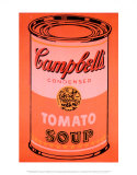 Campbell&#39;s Soup Can, c.1965 (Orange) Prints by Andy Warhol