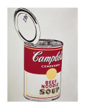 Big Campbell's Soup Can, c.19 Cents, c.1962 Láminas por Andy Warhol