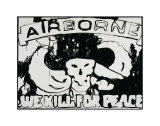 Airborne: We Kill for Peace, c.1985-86 Poster by Andy Warhol