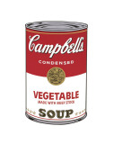 Campbell's Soup I: Vegetable, c.1968 Juliste tekijänä Andy Warhol