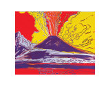 Mount Vesuvius, c.1985 Posters by Andy Warhol