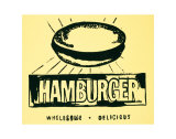 Hamburger, c.1985-86 Affiches par Andy Warhol