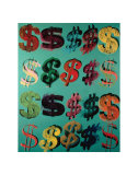 Dollar Signs, c.1981 Print by Andy Warhol