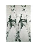 Dobbelt Elvis, ca. 1963 Kunst af Andy Warhol
