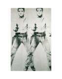 Double Elvis, c.1963 Arte por Andy Warhol