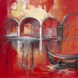 Venise Mysterieuse II Art by Annie Manero