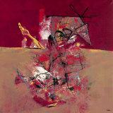L'Amour du Taureau Pour Son Torrero Print by  Lautrédou