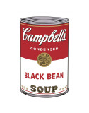 Campbell&#39;s Soup I: Black Bean, c.1968 Affiches par Andy Warhol