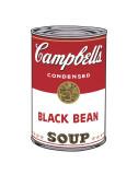 Campbell's Soup I: Black Bean, c.1968 Plakater af Andy Warhol