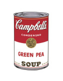Campbell's Soup I: Green Pea, c.1968 Lminas por Andy Warhol