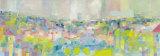 Paysage Bleu Poster by Sophie Jourdan