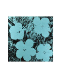Flowers, c.1967 (Blue) Prints by Andy Warhol