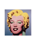 Marilyn, c.1964 (On Dark Gray-Blue) Posters by Andy Warhol