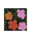 Flowers, c.1964 (Orange, Red, Pink) Affiches par Andy Warhol