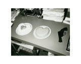 Two Cakes and a Gun, c.1985 Poster by Andy Warhol