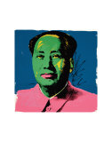 Mao, c.1972 (Green) Posters by Andy Warhol