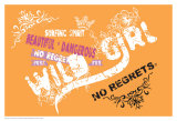 No Regrets: Surfing Spirit Posters
