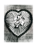Heart with Bow, c.1983 Posters par Andy Warhol