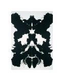 Rorschach, c.1984 Kunst van Andy Warhol