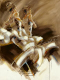 Spirit of Dance Prints by Kitty Meijering