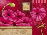 Coeur de Fleurs Poster by Sylvi Pasquier