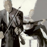Le Violon Prints by Bernard Ott