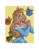 Sleeping Beauty and The Fairy Godmothers: Imagine a Fairy Tale Prints