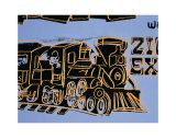 Train, c.1983 Posters af Andy Warhol
