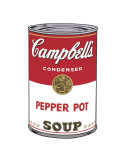 Campbell&#39;s Soup I: Pepper Pot, c.1968 Print by Andy Warhol