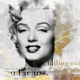 Legenden I, Marilyn Poster by Gery Luger