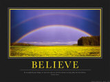 Believe Posters