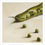 Petits Pois, c.2006 Premium Giclee Print by Nathalie Clement