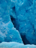Blue Ice Crevasse Along Glacier Front of South Sawyer Glacier, Alaska Photographic Print by Ralph Lee Hopkins