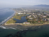 Campus Point and Campus Lagoon at Uc Santa Barbara in Goleta, California Photographie par Rich Reid
