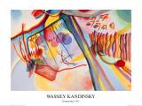 Komposition, c.1911 Affiches par Wassily Kandinsky