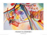 Komposition, c.1911 Posters by Wassily Kandinsky