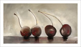 Cerises, c.2006 Premium Giclee Print by Nathalie Clement