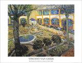 Der Garten des Maison Poster by Vincent van Gogh