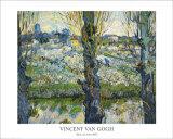 Blick auf Arles, c.1889 Posters par Vincent van Gogh