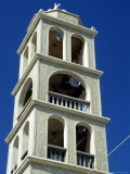 Bell Tower in Greece Photographic Print by Stacy Gold