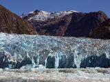 Blue Ice Along Glacier Front, Leconte Glacier, Alaska Photographic Print by Ralph Lee Hopkins