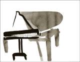 Piano, c.2007 Premium giclée print van Cédric Chauvelot