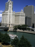 Boat Tours the Chicago River Photographic Print by Stacy Gold